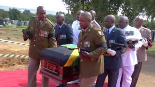 The Special official funeral of Dr Zola Skweyiya