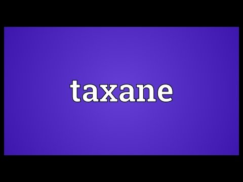 Header of taxane