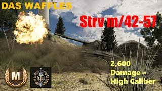 World of Tanks Xbox: Strv m/42-57 | Ace Tanker with Top Gun
