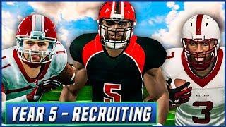 Year 5 Recruiting Special w/ High School Highlights - NCAA Football 14 Dynasty | Ep.77