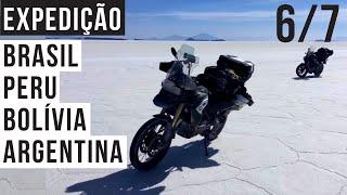 6/7 (Salar de Uyuni)  Peru - Bolívia - Argentina - Brasil - Viagem de moto