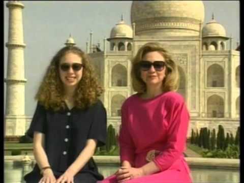 File of Taj Mahal ahead of British royals visit