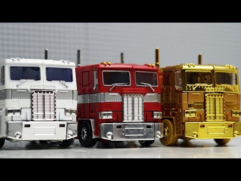 Transformers Optimus Prime vs Ultra Magnus Robot Truck Lego Bank Robbery & Police Car for kids