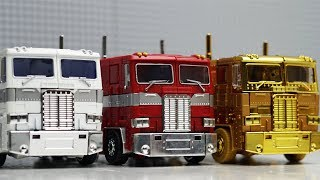 Transformers Optimus Prime vs Ultra Magnus Robot Truck Lego Bank Robbery & Police Car for kids