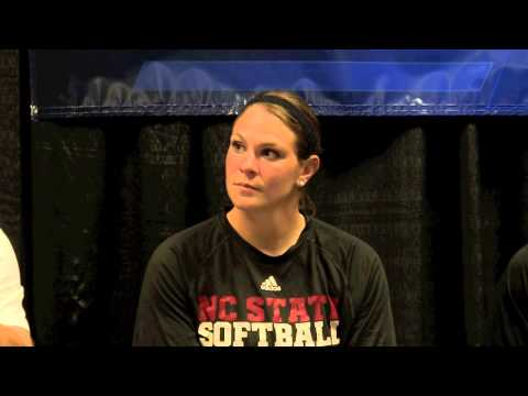 NC State Softball Postgame Press Conference NCAA Game 3 (5/18/13)
