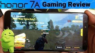 PUBG Mobile For 30 Minutes On Honor 7A In 4K-60FPS (Hindi)