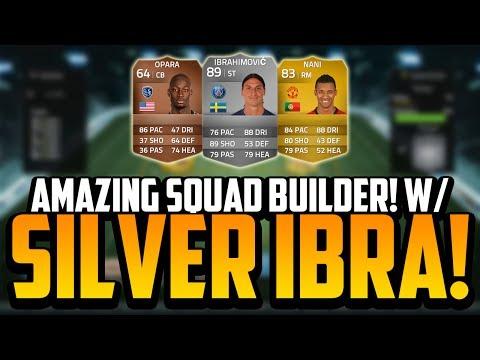AMAZING SKILL SQUAD BUILDER! w/ THE SILVER IBRAHIMOVIĆ! | FIFA 14 Ultimate Team