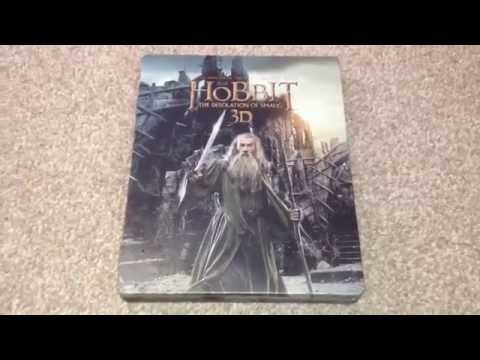 The hobbit: The desolation of smaug 3D UK Blu-ray steelbook