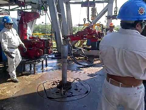 bajando tp ( perforacion de pozos petroleros)