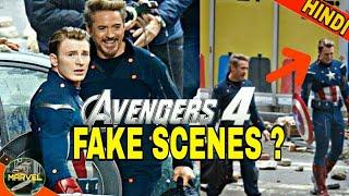 FAKE SCENES IN AVENGERS 4 MOVIE ? (IN HINDI)