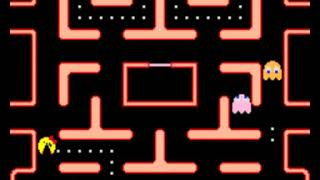 Ms. Pac Man / Galaga 20 Year Reunion cozmodog / namco 2000 (Gamplay unstretched)