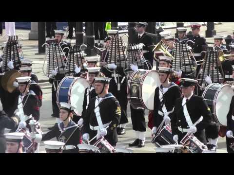Sea Cadets National Trafalgar Parade 2013