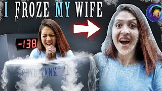 I FROZE MY WIFE (FV Family Cryotherapy Vlog)