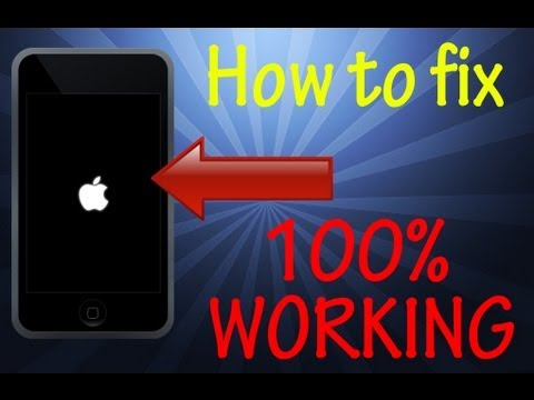 How to fix iPod touch stuck on Apple logo screen 100% WORKING