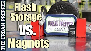 Can A Magnet Erase Flash Memory? (e.g., SD Card, USB Flash Drive)
