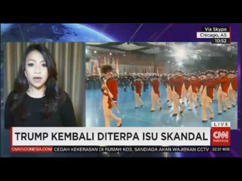 Laporan Langsung VOA untuk CNN Indonesia: Reaksi Perpisahan Obama #1