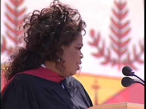 Oprah Winfrey s 2008 Stanford Commencement Address