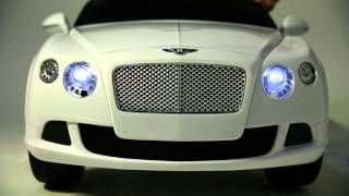 Rastar Bentley GTC Akülü Araba