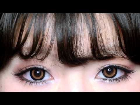 ❤Pinkicon.com❤Contact Lens Review❤Venus Eyes -Chouchou M My Japanese Daily Circle Lenses Collection