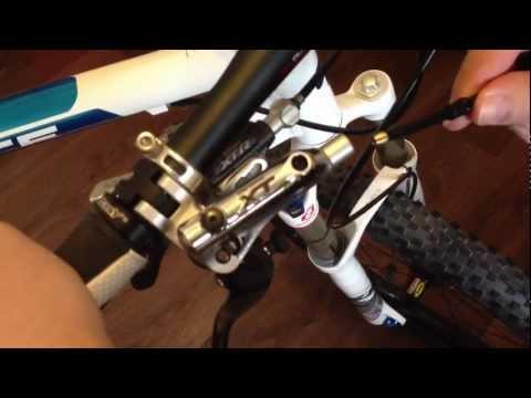 Shimano XT Scheibenbremse BR-M785  Leitungen kürzen