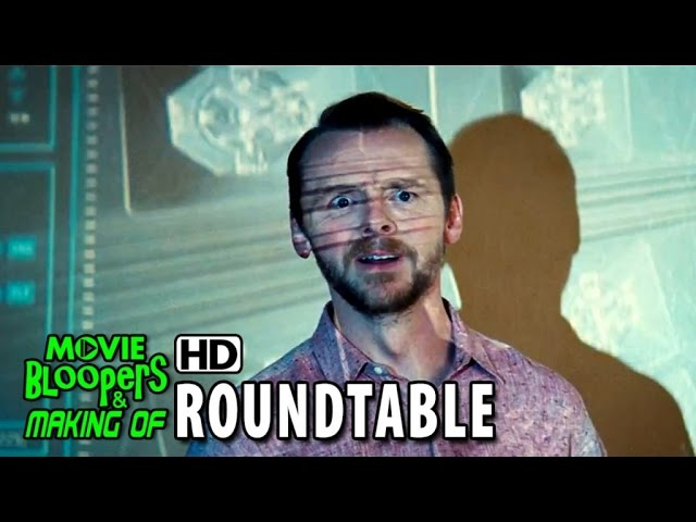 Mission: Impossible - Rogue Nation (2015) Roundtable - Tom Cruise and Simon Pegg