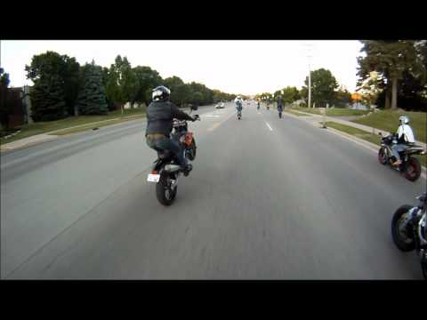Motorcycle Wheelie Epic Fail (The Original Video in HD)
