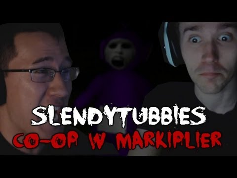 Scary Games - SlendyTubbies Co-op w/ Markiplier