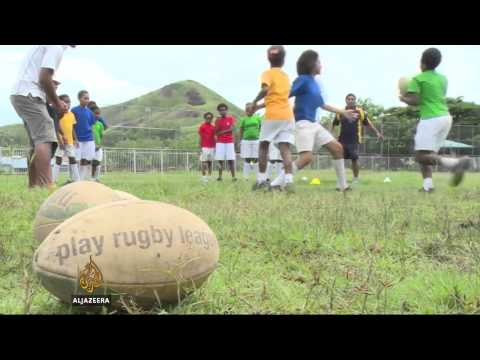 Rugby providing a welcome relief for PNG women