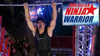American Ninja Warrior All Star Skills Competition - Super Salmon Ladder (Season 8)
