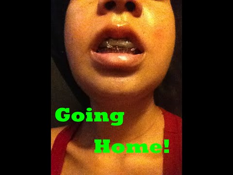 Double Jaw Surgery   Going Home   Orthognathic   Underbite Journey Part 3