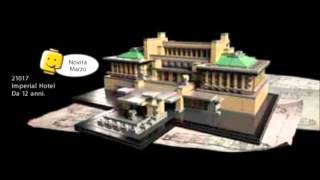 LEGO Architecture 2013 set, Imperial Hotel 21017