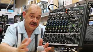 Great Feedback Killer for Live and Recording The Mackie ProFX12v2 Audio Mixer with 12ch and USB