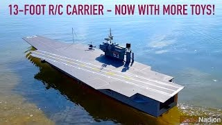 "Jumbo R/C Carrier Gets a Refit: 2 Years of Upgrades to ""Kitty Hawk"""