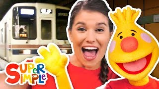 Let's Take The Subway   Sing Along With Tobee   Kids Songs
