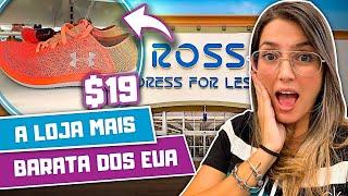 A LOJA mais BARATA DE ORLANDO 😮 ROSS DRESS FOR LESS