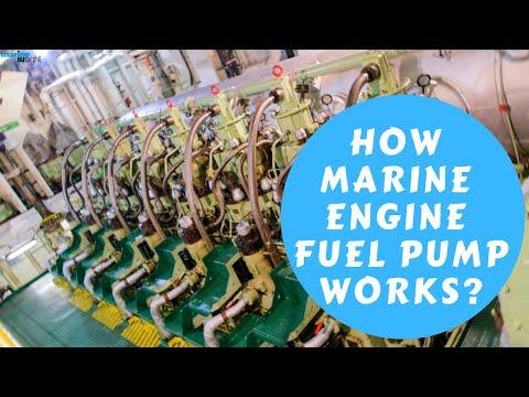How Marine Fuel Pump Works?