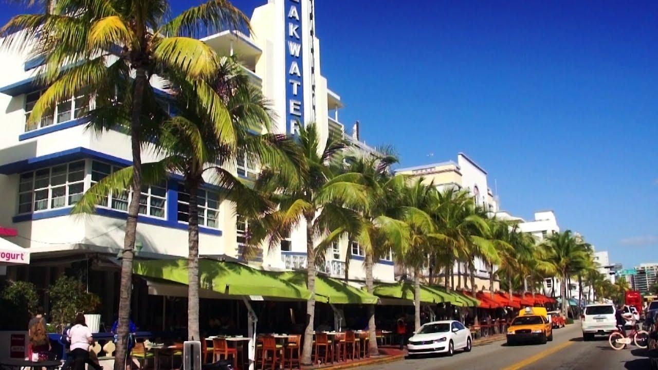 Ocean Drive Miami Beach Florida Youtube