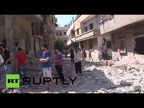Syria: Twin bomb attack injures 35 in war-torn Homs