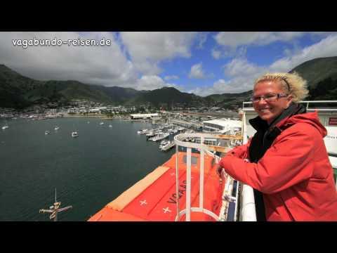 Fähre von Neuseeland`s Süd- zur Nordinsel