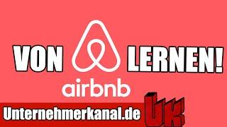 Was du von Airbnb lernen kannst - Startup & Marketing Doku (deutsch)