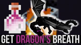 How To Get Dragon's Breath - Minecraft 1.9