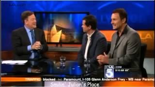 Julian McMahon & Dylan Walsh @KTLA Interview