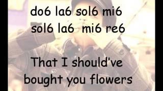 When I Was Your Man - Bruno Mars Notas _ Flauta Dulce