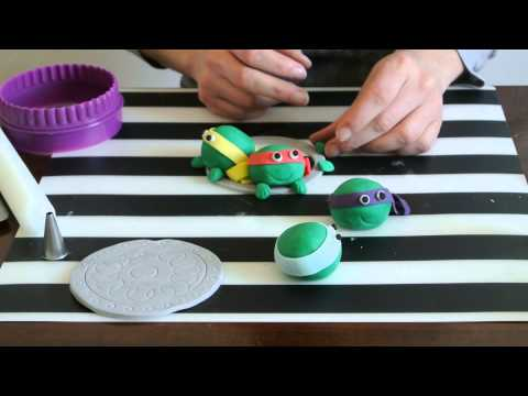 Fondant Ninja Turtles Part 2