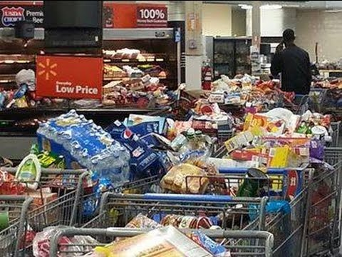 Hoodboogers go crazy at Walmart over food stamp glitch