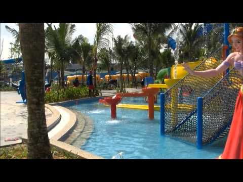 The New iCity Water Park Shah Alam.Part 1.