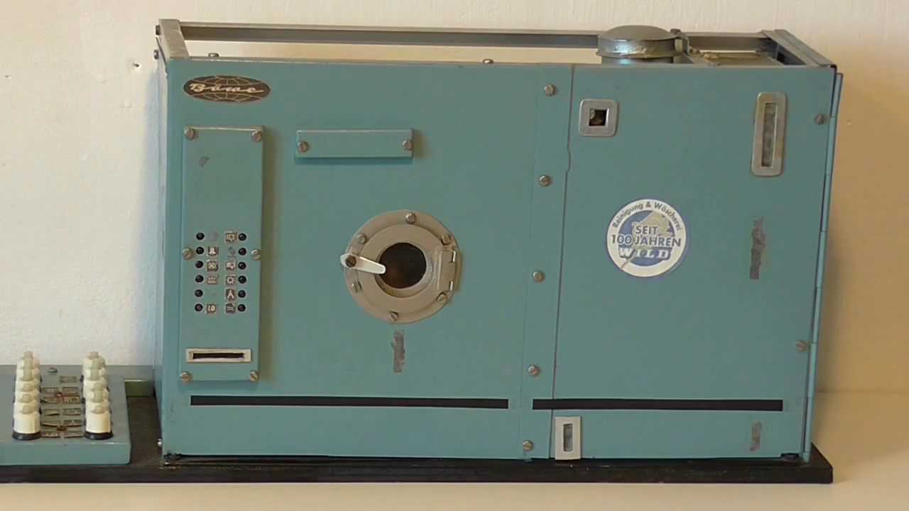 Museo virtuale delle lavatrici giocattolo video lavasecco for Produttore di blueprint virtuale
