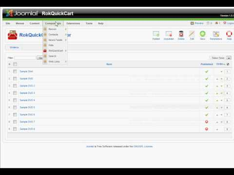Joomla RokQuickCart iDEAL Mollie extension