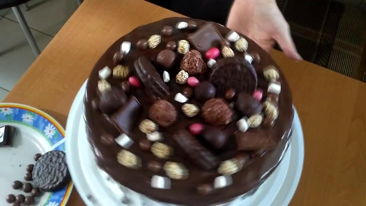 Как сделать шоколадный торт для торта в  968