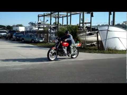 Bare Bone Rides 1979 Honda CBX (1st, 2nd & 3rd Gear)